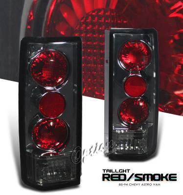 Headlights & Tail Lights - Tail Lights - OptionRacing - Chevrolet Astro Option Racing Altezza Taillight - 18-15103