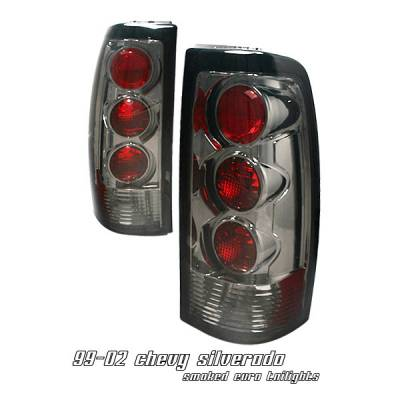 Headlights & Tail Lights - Tail Lights - OptionRacing - GMC Sierra Option Racing Altezza Taillight - 18-15111