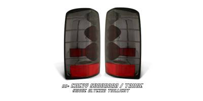 Headlights & Tail Lights - Tail Lights - OptionRacing - Chevrolet Tahoe Option Racing Altezza Taillight - 18-15113