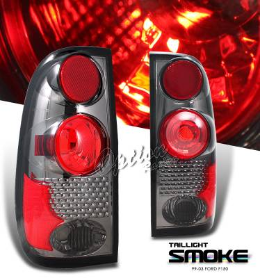 Headlights & Tail Lights - Tail Lights - OptionRacing - Ford F250 Option Racing Altezza Taillight - 18-18125
