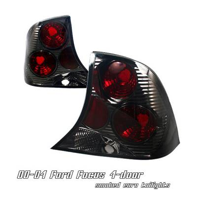 Headlights & Tail Lights - Tail Lights - OptionRacing - Ford Focus Option Racing Altezza Taillight - 18-18126