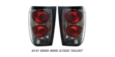 Headlights & Tail Lights - Tail Lights - OptionRacing - Ford Ranger Option Racing Altezza Taillight - 18-18132