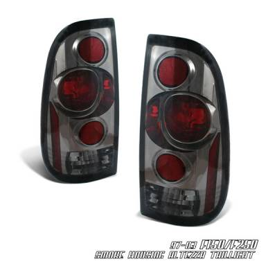 Headlights & Tail Lights - Tail Lights - OptionRacing - Ford F250 Option Racing Altezza Taillight - 18-18223