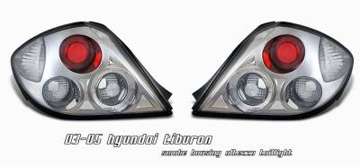 Headlights & Tail Lights - Tail Lights - OptionRacing - Hyundai Tiburon Option Racing Altezza Taillight - 18-22144