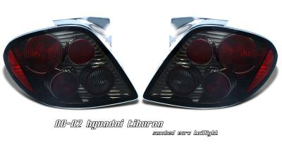 Headlights & Tail Lights - Tail Lights - OptionRacing - Hyundai Tiburon Option Racing Altezza Taillight - 18-22145