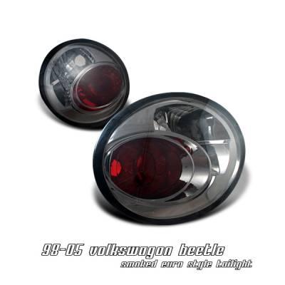 Headlights & Tail Lights - Tail Lights - OptionRacing - Volkswagen Beetle Option Racing Altezza Taillight - 18-45157