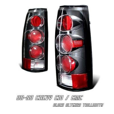 Headlights & Tail Lights - Tail Lights - OptionRacing - Chevrolet Blazer Option Racing Altezza Taillight - 19-15106