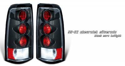 Headlights & Tail Lights - Tail Lights - OptionRacing - GMC Sierra Option Racing Altezza Taillight - 19-15108