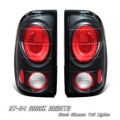 Headlights & Tail Lights - Tail Lights - OptionRacing - Dodge Dakota Option Racing Altezza Taillight - 19-17109