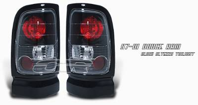 Headlights & Tail Lights - Tail Lights - OptionRacing - Dodge Ram Option Racing Altezza Taillight - 19-17113