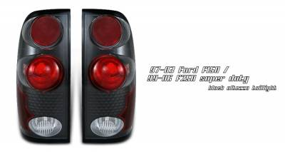 Headlights & Tail Lights - Tail Lights - OptionRacing - Ford F250 Option Racing Altezza Taillight - 19-18115