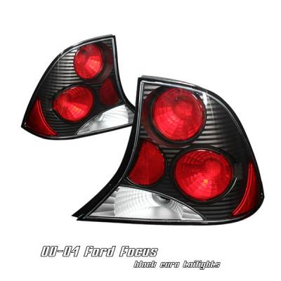 Headlights & Tail Lights - Tail Lights - OptionRacing - Ford Focus Option Racing Altezza Taillight - 19-18116