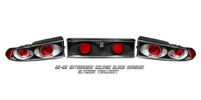 Headlights & Tail Lights - Tail Lights - OptionRacing - Mitsubishi Eclipse Option Racing Altezza Taillight - 19-35136