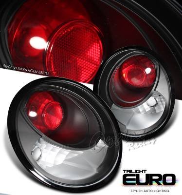 Headlights & Tail Lights - Tail Lights - OptionRacing - Volkswagen Beetle Option Racing Altezza Taillight - 19-45143