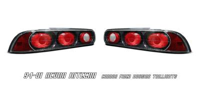 Headlights & Tail Lights - Tail Lights - OptionRacing - Acura Integra 2DR Option Racing Altezza Taillight - 20-10101