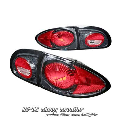 Headlights & Tail Lights - Tail Lights - OptionRacing - Chevrolet Cavalier Option Racing Altezza Taillight - 20-15108