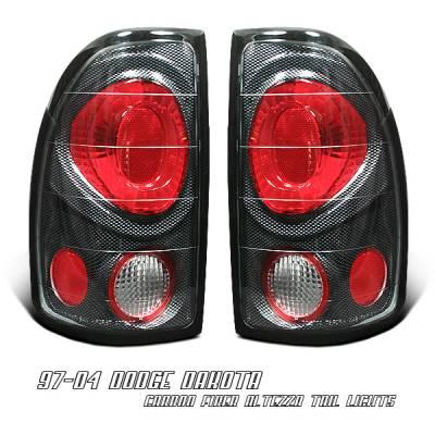 Headlights & Tail Lights - Tail Lights - OptionRacing - Dodge Dakota Option Racing Altezza Taillight - 20-17116