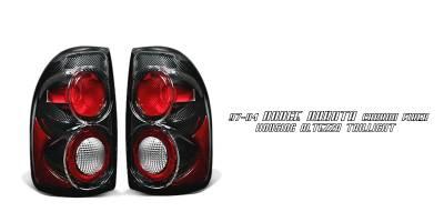 Headlights & Tail Lights - Tail Lights - OptionRacing - Dodge Dakota Option Racing Altezza Taillight - 20-17117