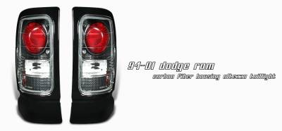 Headlights & Tail Lights - Tail Lights - OptionRacing - Dodge Ram Option Racing Altezza Taillight - 20-17120