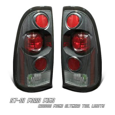 Headlights & Tail Lights - Tail Lights - OptionRacing - Ford F250 Option Racing Altezza Taillight - 20-18124