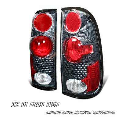 Headlights & Tail Lights - Tail Lights - OptionRacing - Ford F250 Option Racing Altezza Taillight - 20-18125