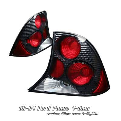 Headlights & Tail Lights - Tail Lights - OptionRacing - Ford Focus Option Racing Altezza Taillight - 20-18127