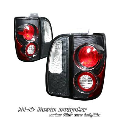 Headlights & Tail Lights - Tail Lights - OptionRacing - Lincoln Navigator Option Racing Altezza Taillight - 20-30143
