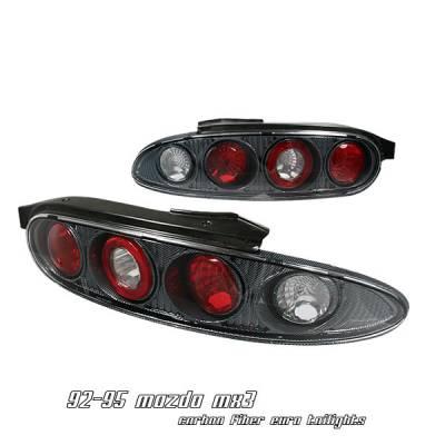 Headlights & Tail Lights - Tail Lights - OptionRacing - Mazda MX3 Option Racing Altezza Taillight - 20-31144