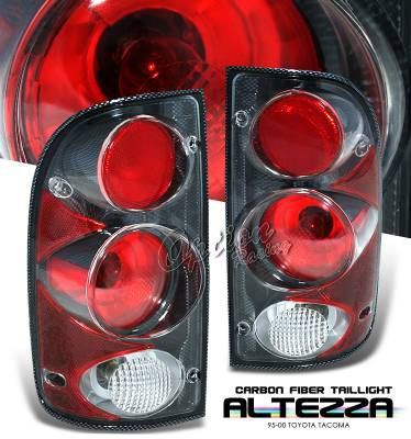 Headlights & Tail Lights - Tail Lights - OptionRacing - Toyota Tacoma Option Racing Altezza Taillight - 20-44153