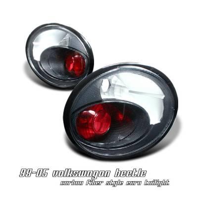 Headlights & Tail Lights - Tail Lights - OptionRacing - Volkswagen Beetle Option Racing Altezza Taillight - 20-45151