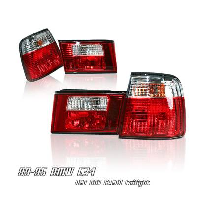 Headlights & Tail Lights - Tail Lights - OptionRacing - BMW 5 Series Option Racing Taillight - 21-12108