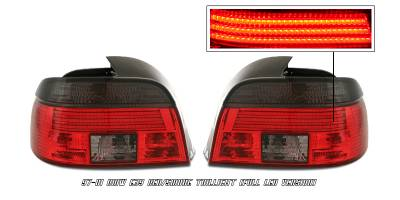 Headlights & Tail Lights - Tail Lights - OptionRacing - BMW 5 Series Option Racing LED Taillight - 21-12121