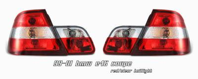 Headlights & Tail Lights - Tail Lights - OptionRacing - BMW 3 Series Option Racing Taillight - 21-12123
