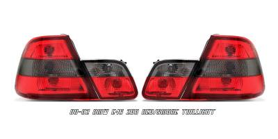 Headlights & Tail Lights - Tail Lights - OptionRacing - BMW 3 Series Option Racing Taillight - 21-12124