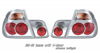 Headlights & Tail Lights - Tail Lights - OptionRacing - BMW 3 Series Option Racing Altezza Taillight - 21-12125