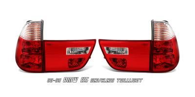 Headlights & Tail Lights - Tail Lights - OptionRacing - BMW X5 Option Racing Taillight - 21-12130