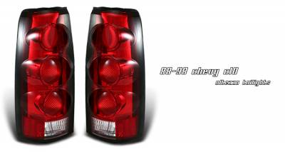 Headlights & Tail Lights - Tail Lights - OptionRacing - Chevrolet Blazer Option Racing Altezza Taillight - 21-15134