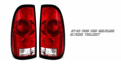 Headlights & Tail Lights - Tail Lights - OptionRacing - Ford F250 Option Racing Altezza Taillight - 21-18142