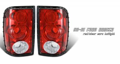 Headlights & Tail Lights - Tail Lights - OptionRacing - Ford Ranger Option Racing Altezza Taillight - 21-18145