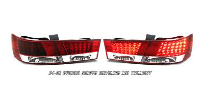 Headlights & Tail Lights - Tail Lights - OptionRacing - Hyundai Sonata Option Racing LED Taillight - 21-22158