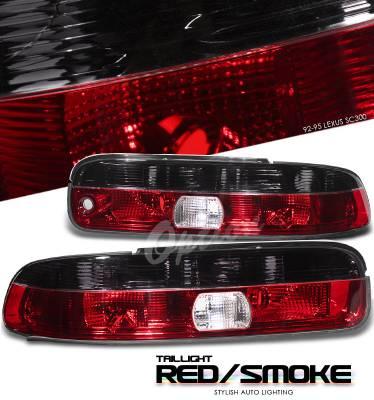 Headlights & Tail Lights - Tail Lights - OptionRacing - Lexus SC Option Racing Taillight - 21-29162