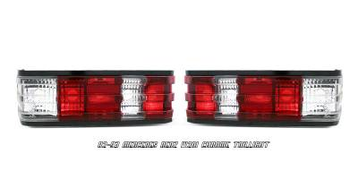Headlights & Tail Lights - Tail Lights - OptionRacing - Mercedes-Benz C Class Option Racing Taillight - 21-32167