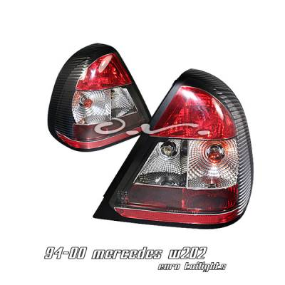 Headlights & Tail Lights - Tail Lights - OptionRacing - Mercedes-Benz C Class Option Racing Taillight - 21-32169