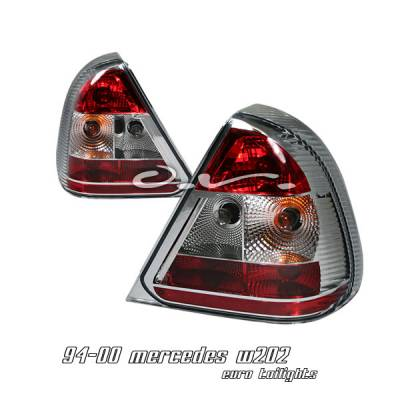 Headlights & Tail Lights - Tail Lights - OptionRacing - Mercedes-Benz C Class Option Racing Taillight - 21-32170