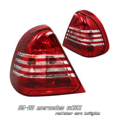 Headlights & Tail Lights - Tail Lights - OptionRacing - Mercedes-Benz C Class Option Racing Taillight - 21-32171