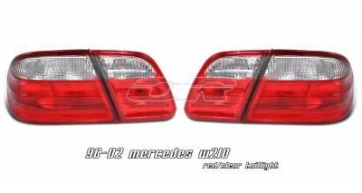 Headlights & Tail Lights - Tail Lights - OptionRacing - Mercedes-Benz E Class Option Racing Taillight - 21-32172