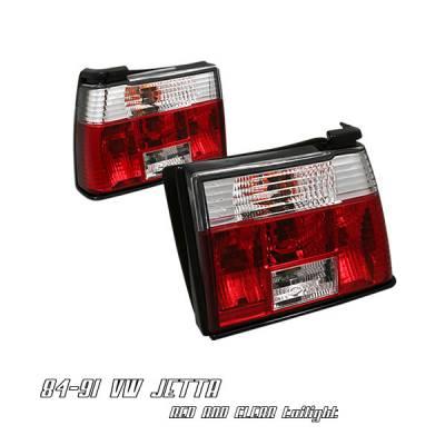 Headlights & Tail Lights - Tail Lights - OptionRacing - Volkswagen Jetta Option Racing Taillight - 21-45178