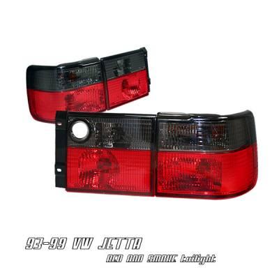 Headlights & Tail Lights - Tail Lights - OptionRacing - Volkswagen Jetta Option Racing Taillight - 21-45181