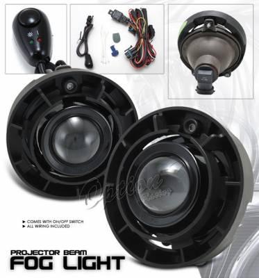 Headlights & Tail Lights - Fog Lights - OptionRacing - Chevrolet Colorado Option Racing Fog Light Kit - Clear - 28-15212