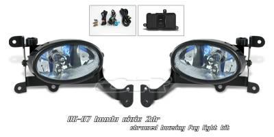 Headlights & Tail Lights - Fog Lights - OptionRacing - Honda Civic Option Racing Fog Light Kit - 28-20127